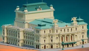 Vinohrady Theatre | Prague | Krysot Minecraft Map & Project