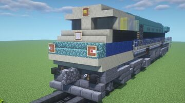 GM Electro Motive Diesel EMD GT46MAC | WDG-4 INDIAN RAILWAYS #12001 Minecraft Map & Project