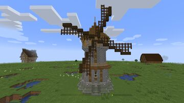 Medieval Fever (4) - Windmill Minecraft Map & Project