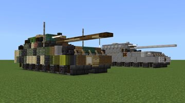 Panzer VIII Maus Minecraft Map & Project