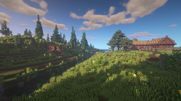 Shire land Minecraft Map & Project