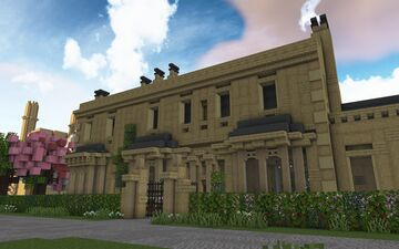 Ravencroft House, Linford-upon-Avon Minecraft Map & Project