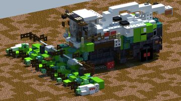 Claas Jaguar 990 Terra Trac, Forage Harvester [With Download] Minecraft Map & Project