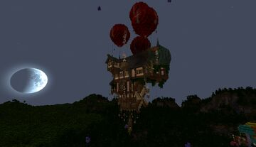 My Balloon House Minecraft Map & Project