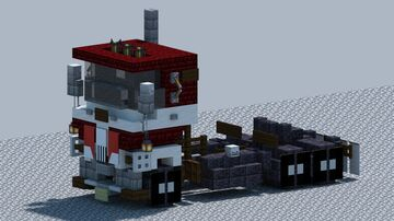 """GMC """"CrackerBox"""" Cabover truck [With Download] Minecraft Map & Project"""