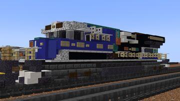 "CSX - GEVO ES44AH ""Honoring our law enforcement"" 3194 Minecraft Map & Project"