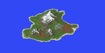 A Terrain for a RPG or Survival Map Minecraft Map & Project