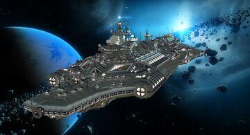 NEMESIS Class Light Cruiser Minecraft Map & Project