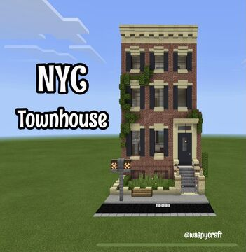Minecraft Nyc Townhouse! Minecraft Map & Project