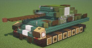 Ersatz M10 Panther (1.5:1 Scale) Minecraft Map & Project
