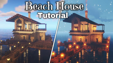 beach house in minecraft Minecraft Map & Project