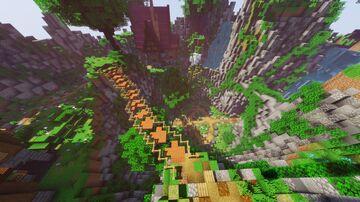Fantasy Flower Lobby/hub Minecraft Map & Project