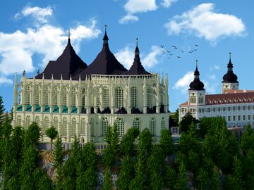St. Barbara's Church | Kutna Hora | Krysot (+ download) Minecraft Map & Project