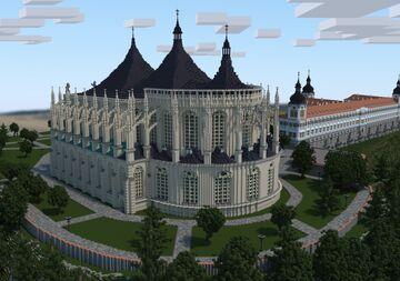 St. Barbara's Church   Kutna Hora   Krysot (+ download) Minecraft Map & Project