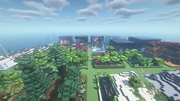 Biome Texture Test Map Java Edition Minecraft Map & Project