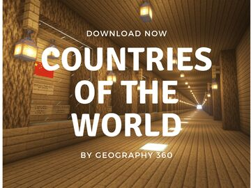 Countries of the World 1.16 Minecraft Map & Project