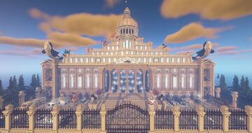 Orca Creative Grand hall Minecraft Map & Project