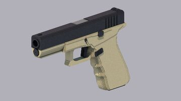 Glock 17 Minecraft Map & Project