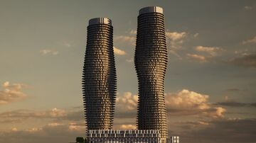 Absolute World Towers in Mississauga, Canada 1:1 scale Minecraft Map & Project