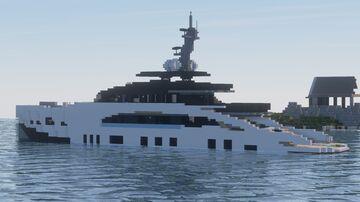 Tankoa 55 Yacht -  Minecraft Yacht Minecraft Map & Project