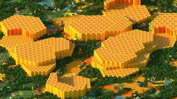 Bee Peak - 1000x1000 | Bee Map 1.16 Minecraft Map & Project