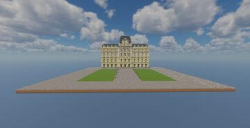 Buenos Aires Central Post Office Minecraft Map & Project