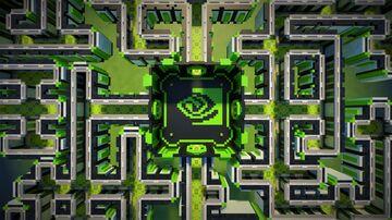 NVIDIA - RTXon Minecraft Maze Minecraft Map & Project