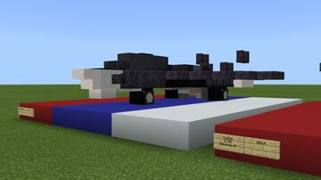 MiG-41 1:1 Minecraft Map & Project
