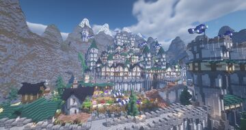 [Albadium] The Great Divide Minecraft Map & Project