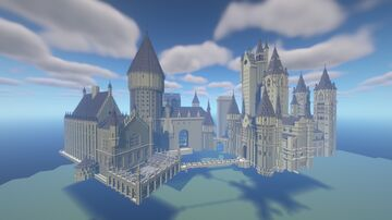 Hogwarts (Hybrid Map) Minecraft Map & Project