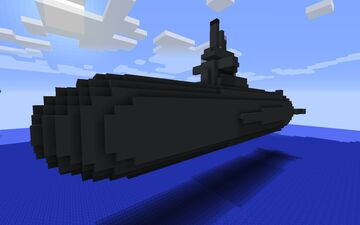 modern tactical german submarine class 212A - schematic download Minecraft Map & Project