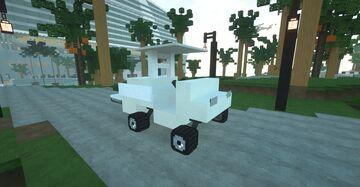 Golf Cart Minecraft Map & Project
