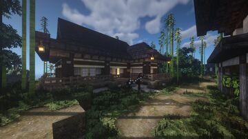 Traditional Japanese residence/house | Umakwa Minecraft Map & Project