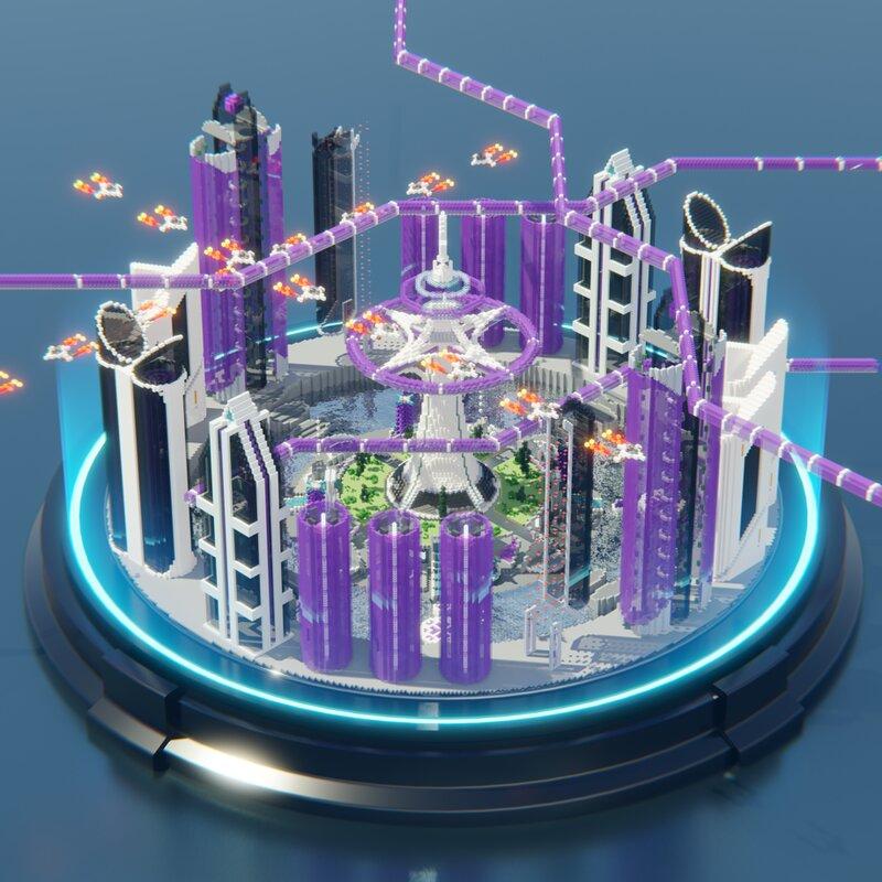 Futuristic City Arena   Aderlyon Build Team
