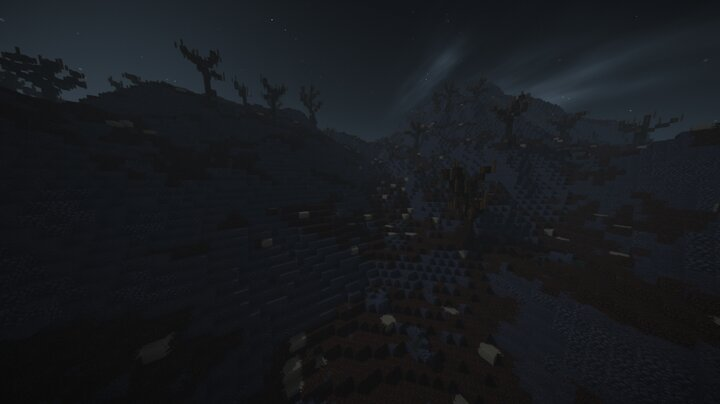 Valley View With Shaders