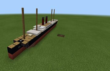 ss bronco (fictional) 1.5 scale ship Minecraft Map & Project