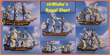 sirBlake's Royal Fleet Minecraft Map & Project