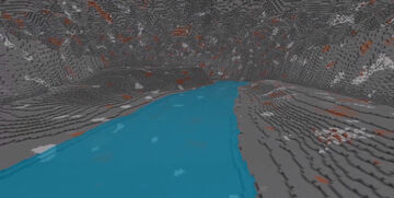 Cavern Map Generation 1500 x 1500 Minecraft Map & Project