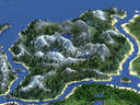 The Official World of All Above (8000x8000) 1.16.5 version 1.0 Minecraft Map & Project