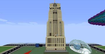 Wayne Enterprises ( to hide the Batcaves) Minecraft Map & Project