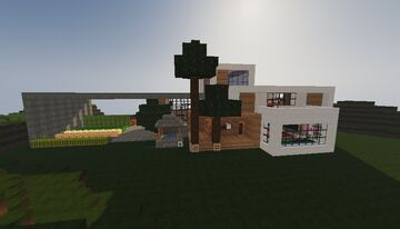 Mansion ambiental / Environmental mansion Minecraft Map & Project