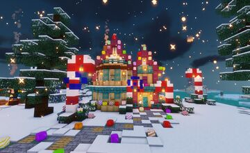 Wildcraft's Winter Village 2020 Minecraft Map & Project