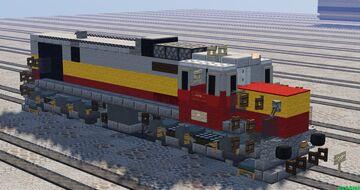 Syrian Railways GE U17C Minecraft Map & Project