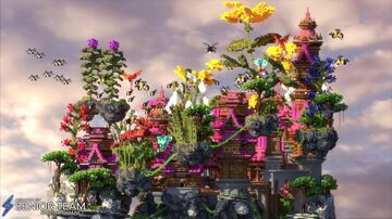 Nature Spawn Minecraft Map & Project