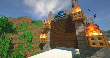 Welcome To Jurassic World Minecraft Map & Project