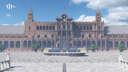 Plaza de España, Seville Minecraft Map & Project