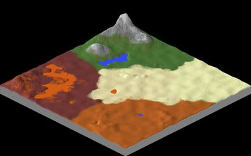 ⚜️1024x1024 - Custom Island - Map Download ! Minecraft Map & Project