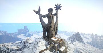 Shrine of Azura (Skyrim TES) Minecraft Map & Project