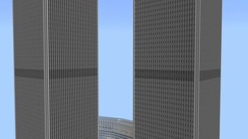 The Original World Trade Center (1:1 Scale) Minecraft Map & Project