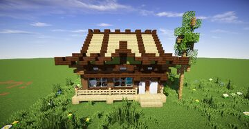 🎏 Small chinese house 🎎 Minecraft Map & Project